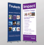 Wide Format Pop up Banners