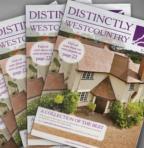 Distinctly Westcountry Litho printed magazine
