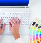 Digital Printing Colour Swatches